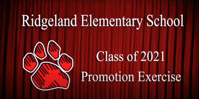Watch the 2021 RES 5th Grade Promotion Exercise Featured Photo