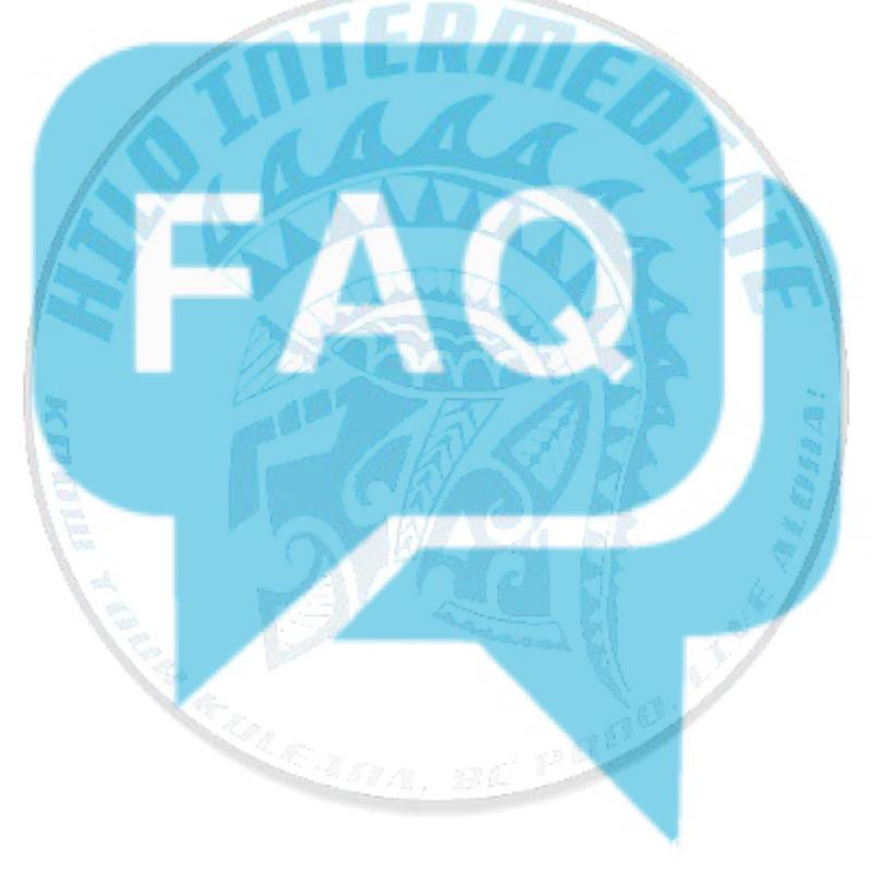 Hilo Intermediate School Frequently Asked Questions Featured Photo