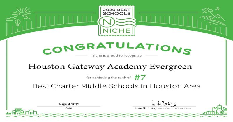 HGA Evergreen Campus #7 in Niche Rankings