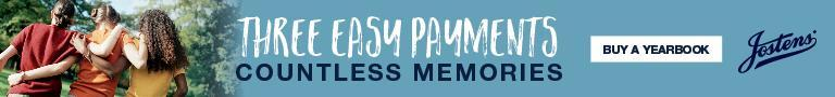 Payment plans available for yearbooks