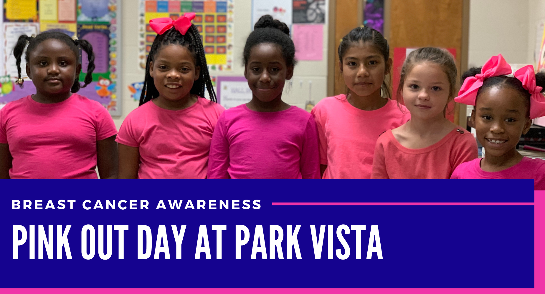 pink out day at park vista