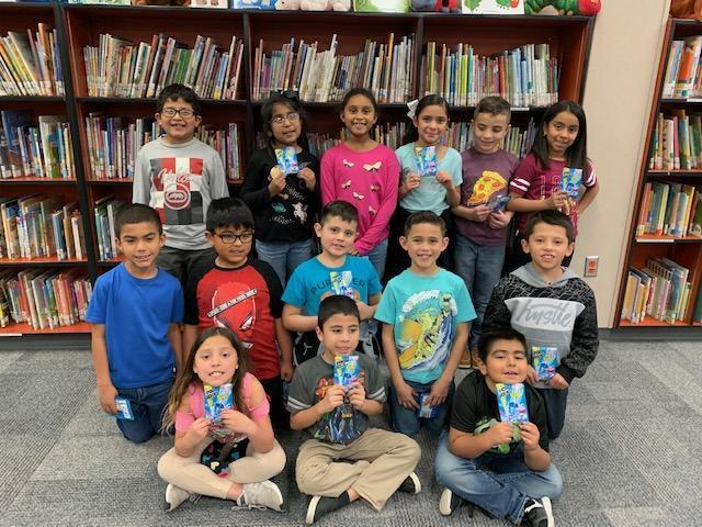 Dr. Seuss Challenge 2nd Grade winners