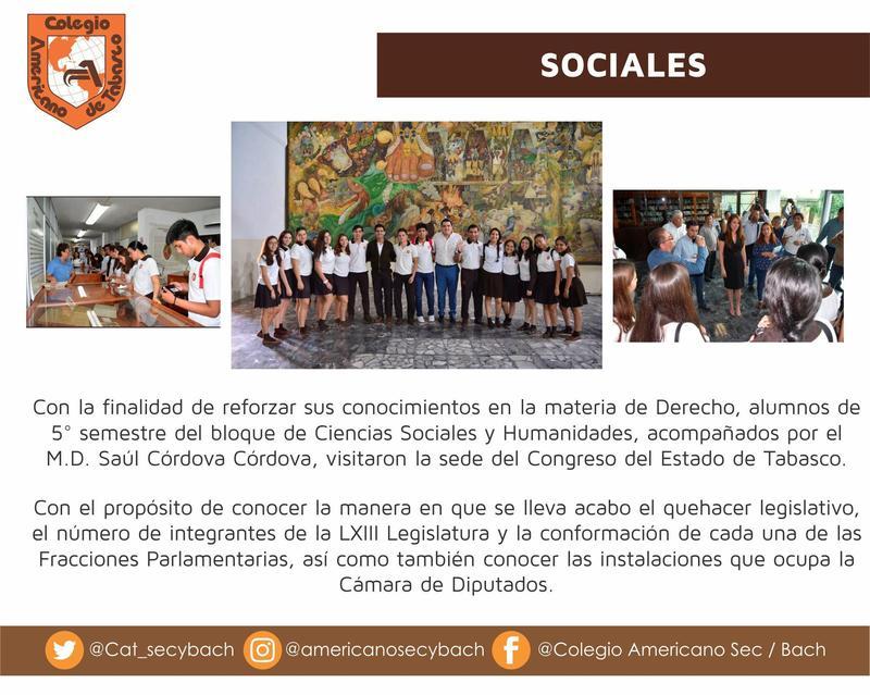 Visita al Congreso del Estado de Tabasco. Featured Photo