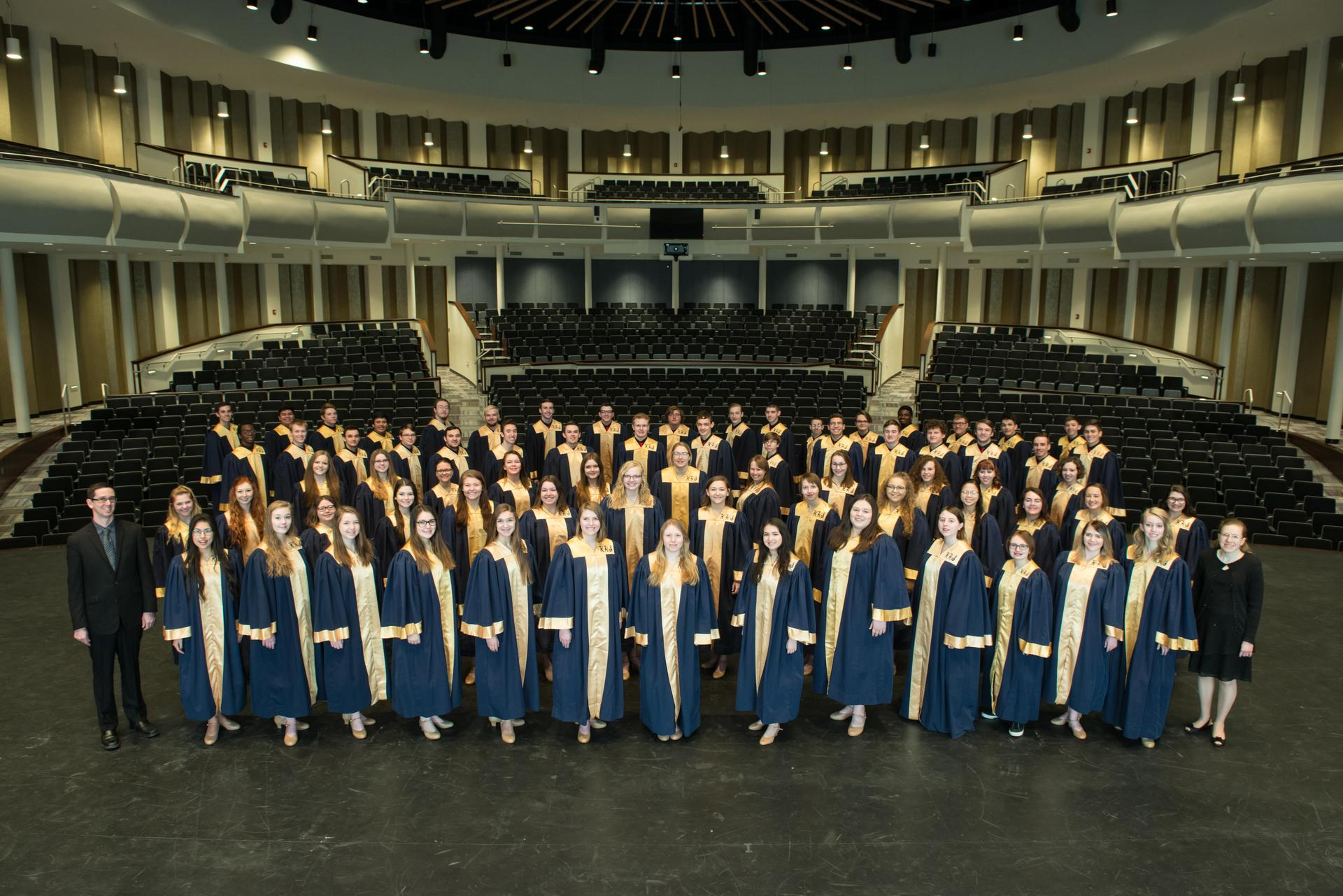 Group Photo of KHS Chorale