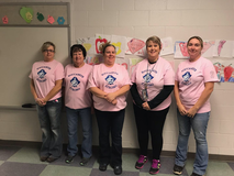 Buckhannon Academy Elementary supporting Buccaneers Strong.