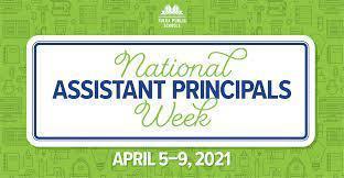 NATIONAL ASSISTANT PRINCIPAL WEEK Thumbnail Image