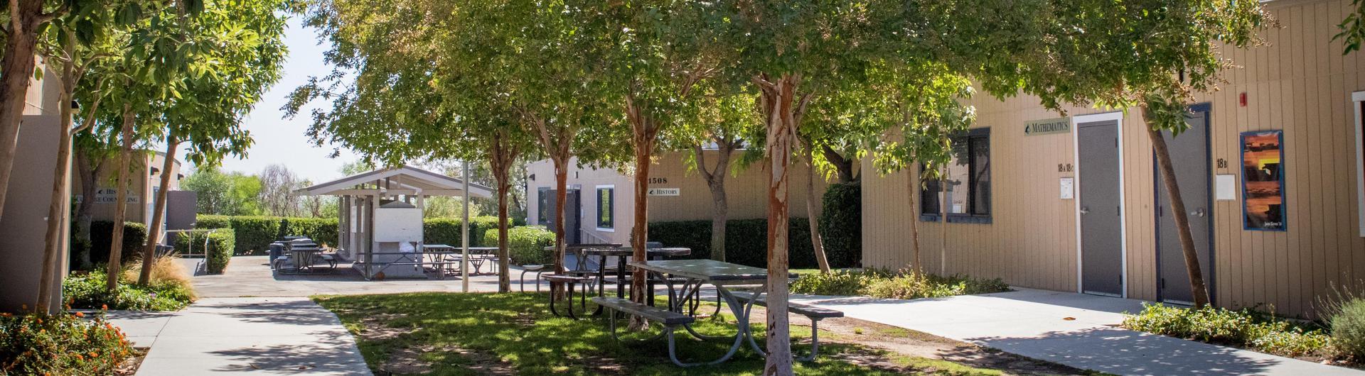 Center of campus