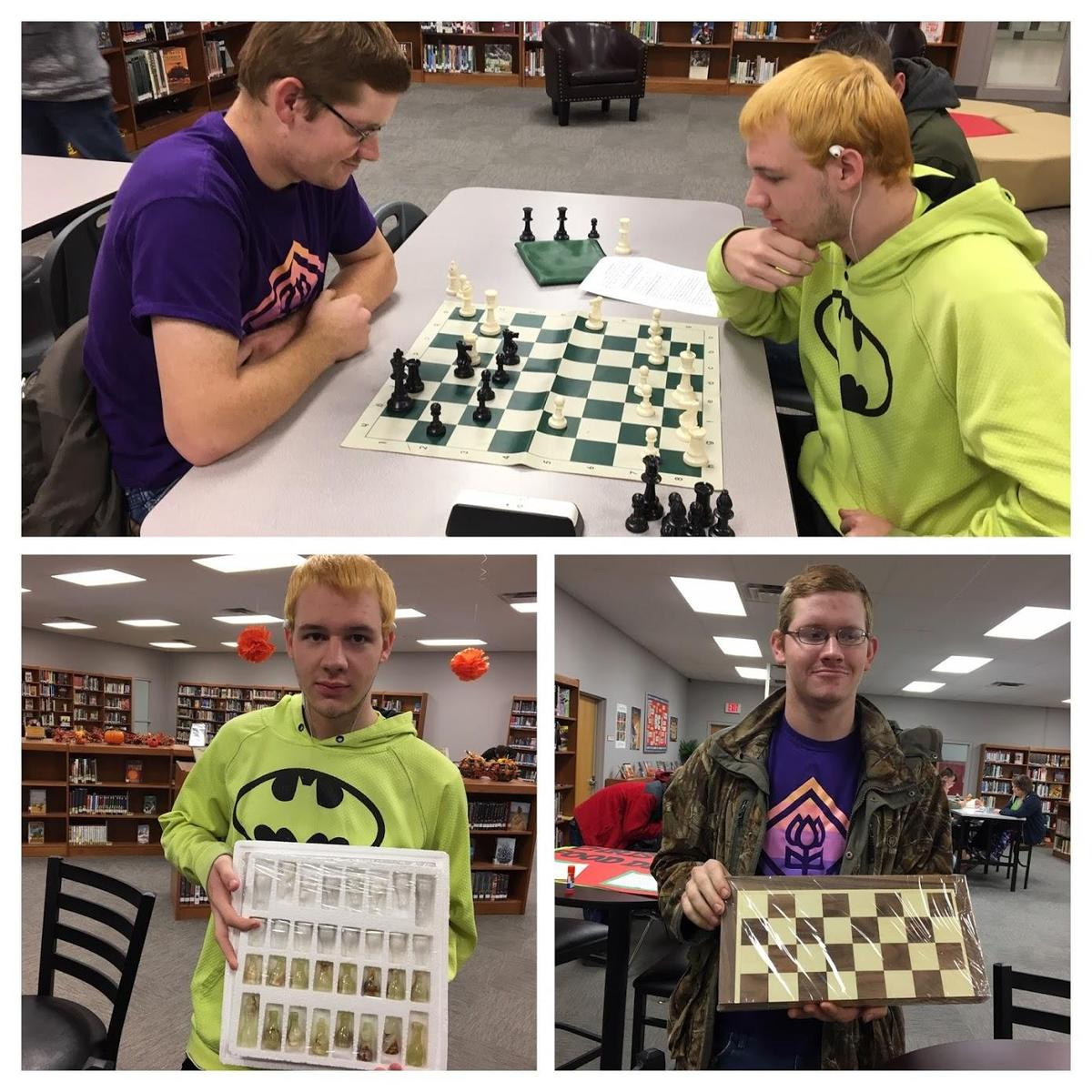 collage of chess winners