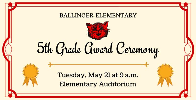 5th Grade Award Ceremony