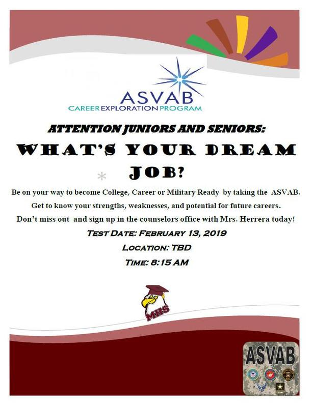 ASVAB information. Click on the Tab Featured Photo