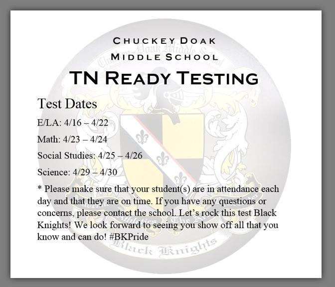 TN Ready Testing Featured Photo