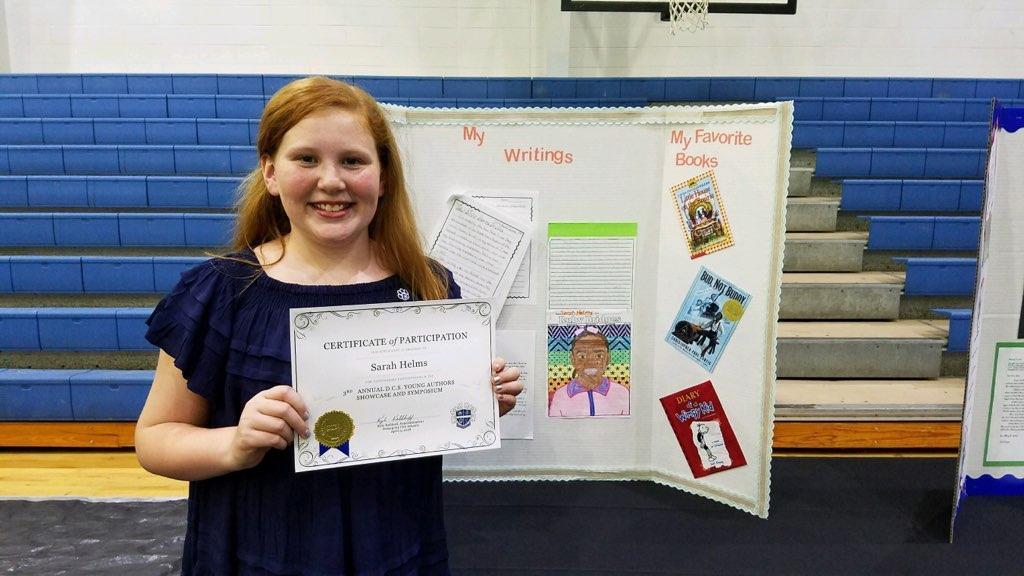 Winner of Writer's Symposium