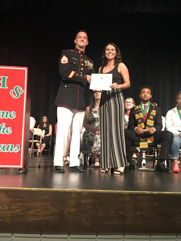 2019 senior awards