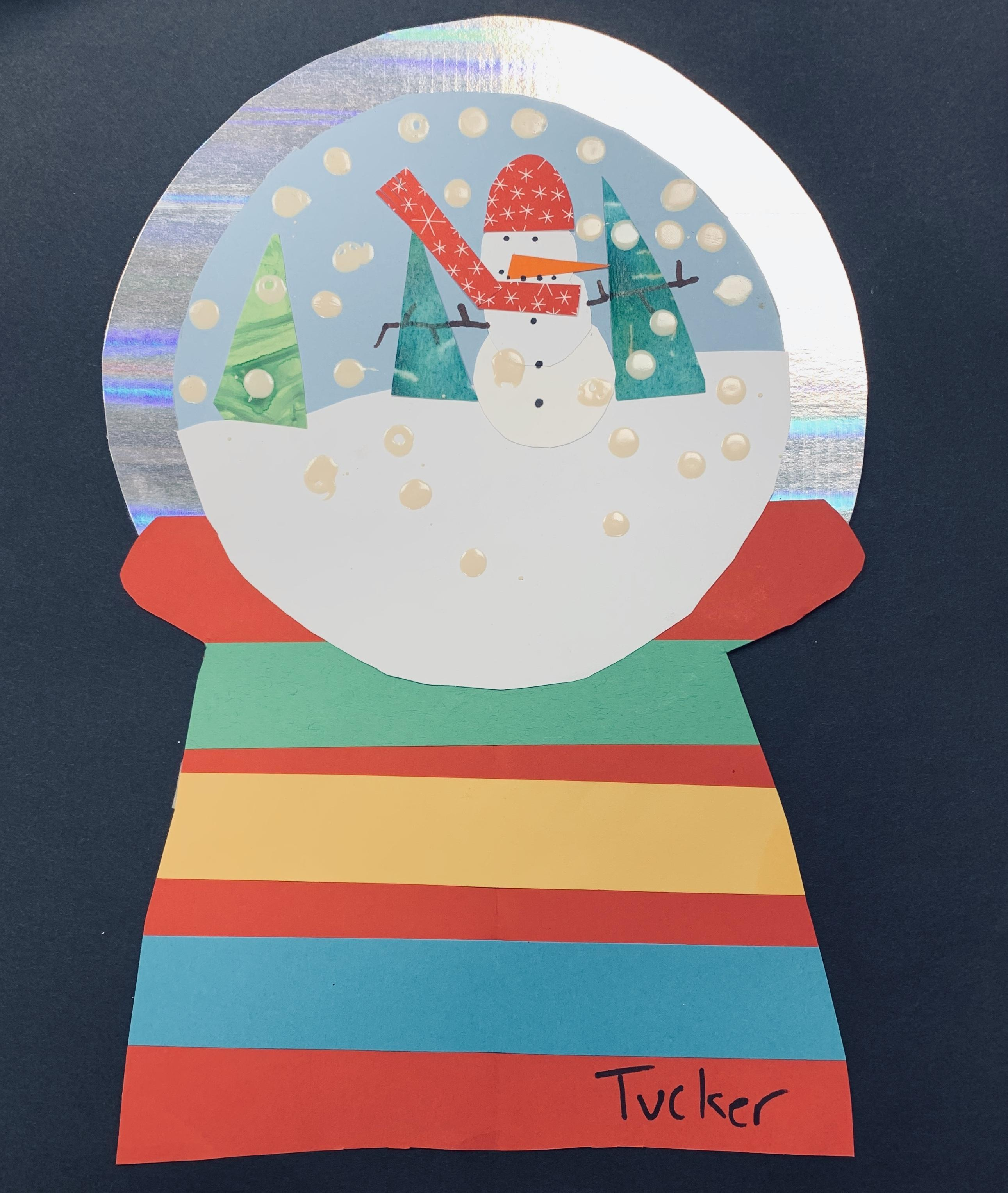 Holiday Card:  Tucker Beck, Davis-Townsend Elementary