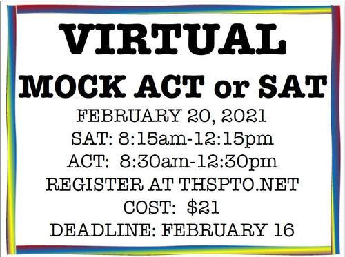 Virtual Mock SAT and ACT