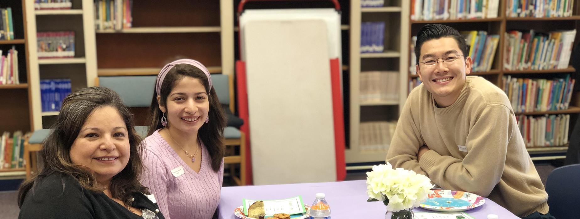 Marguerita staff during lunch event