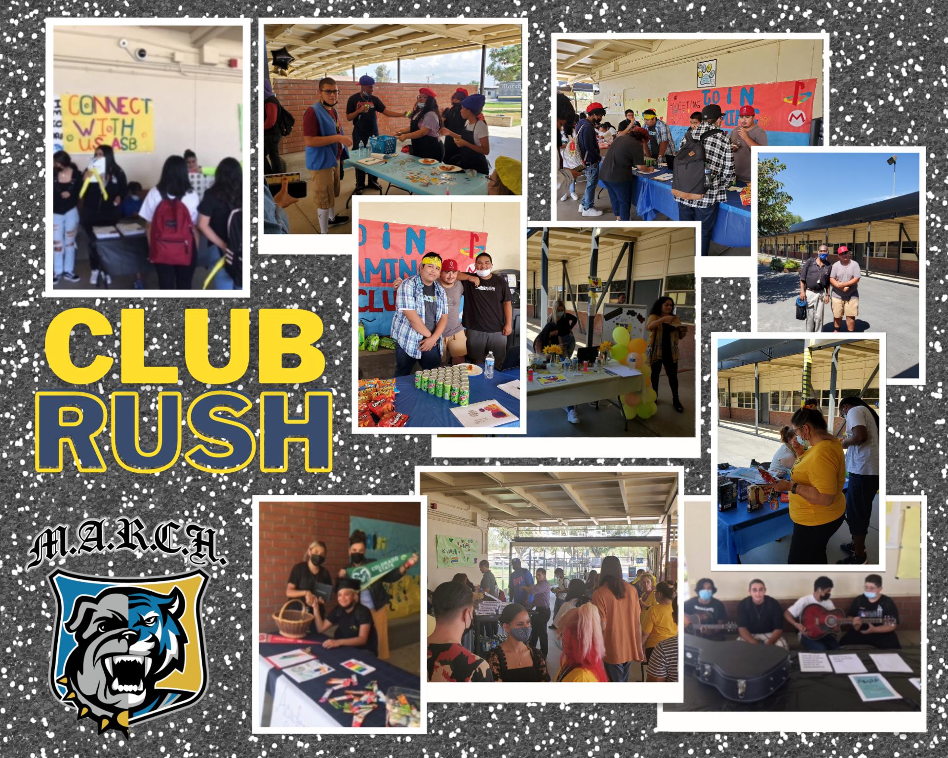 Team MARCH Club Rush Photos