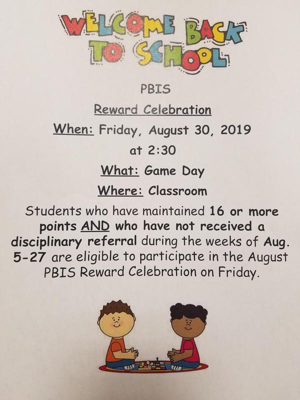 PBIS Celebration