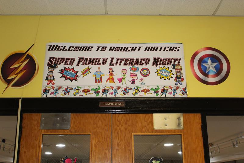 Welcome to the RWS Super Family Literacy Night