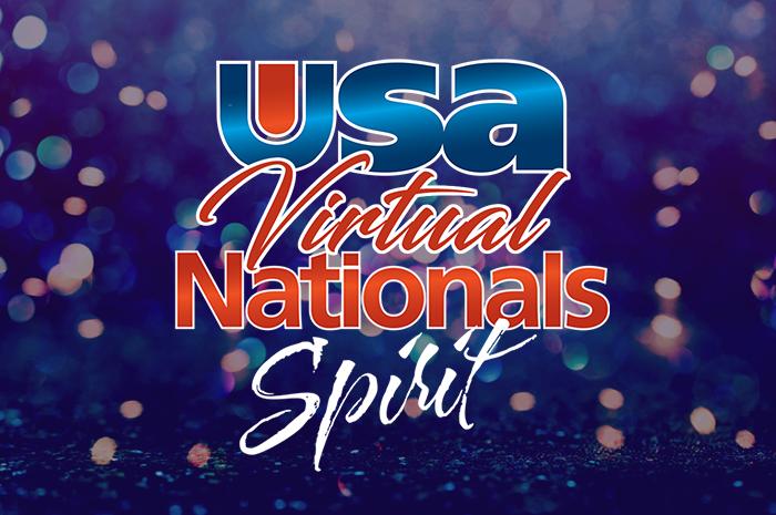 USA Nationals cheer logo
