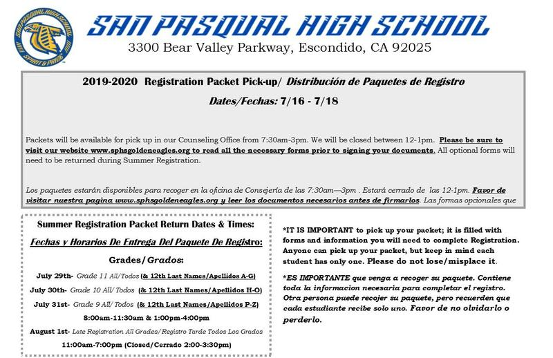 2019-2020 School Year Registration Information Thumbnail Image