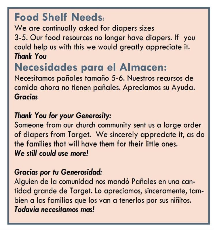 Our Food Shelf Needs Our Help! Featured Photo