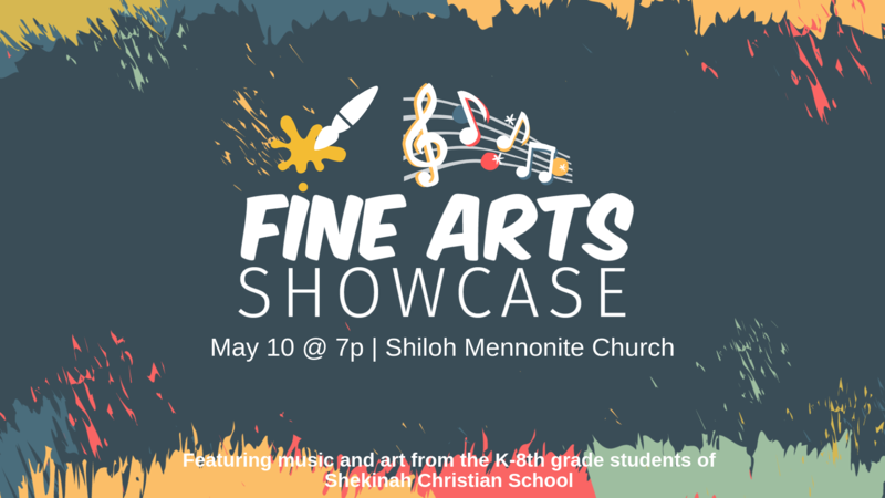 Fine Arts Showcase | May 10, 2019 @ 7p Thumbnail Image
