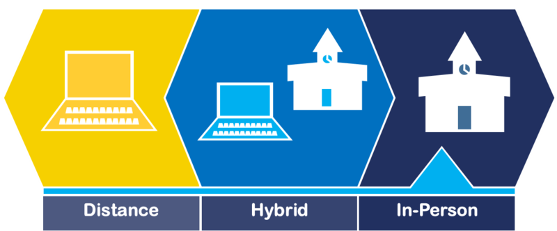 graphic of computers and school buildings