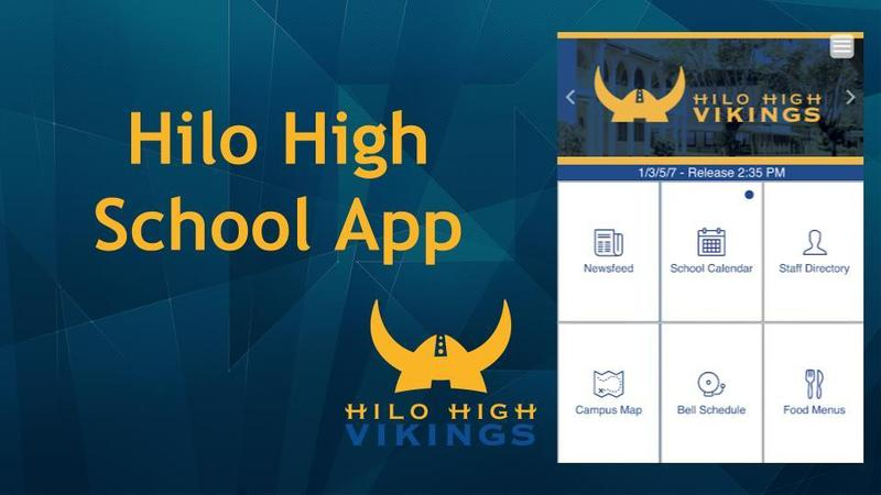 Download the Hilo High App! Featured Photo