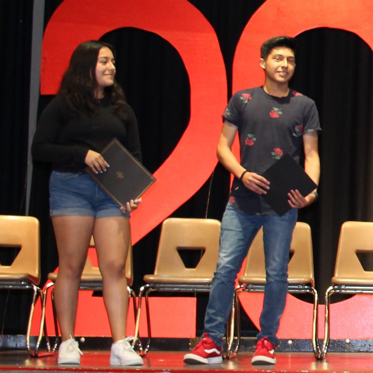 Geraldine Perez, Yahir Badillo, Perfect Attendence