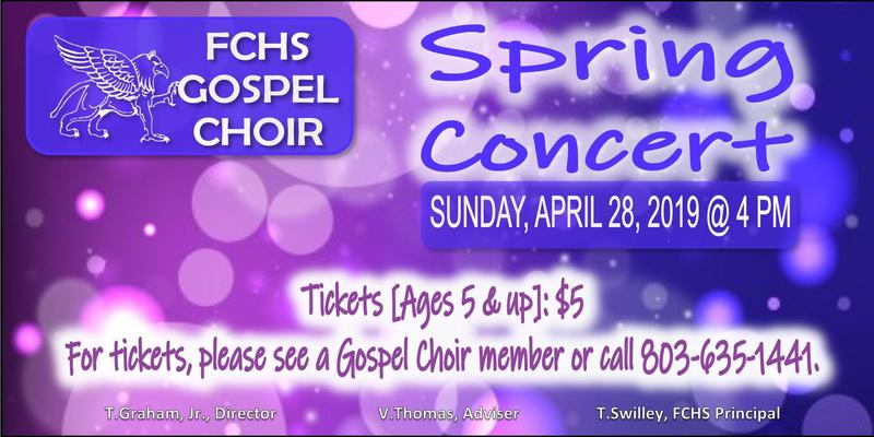 Gospel Choir Concert Flyer