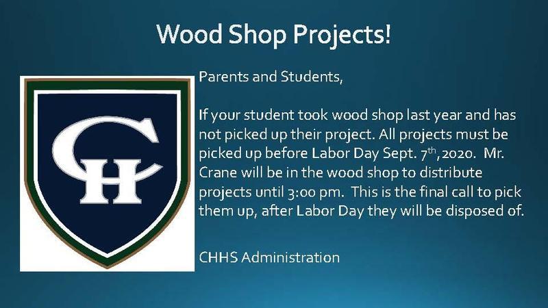 Wood Shop Pickup