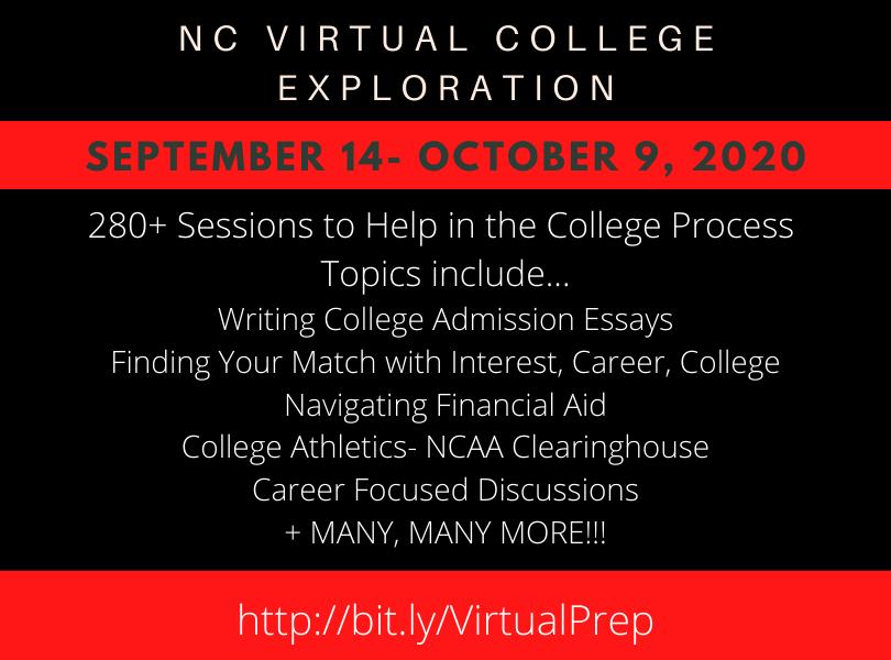 NC Virtual College Exploration Info