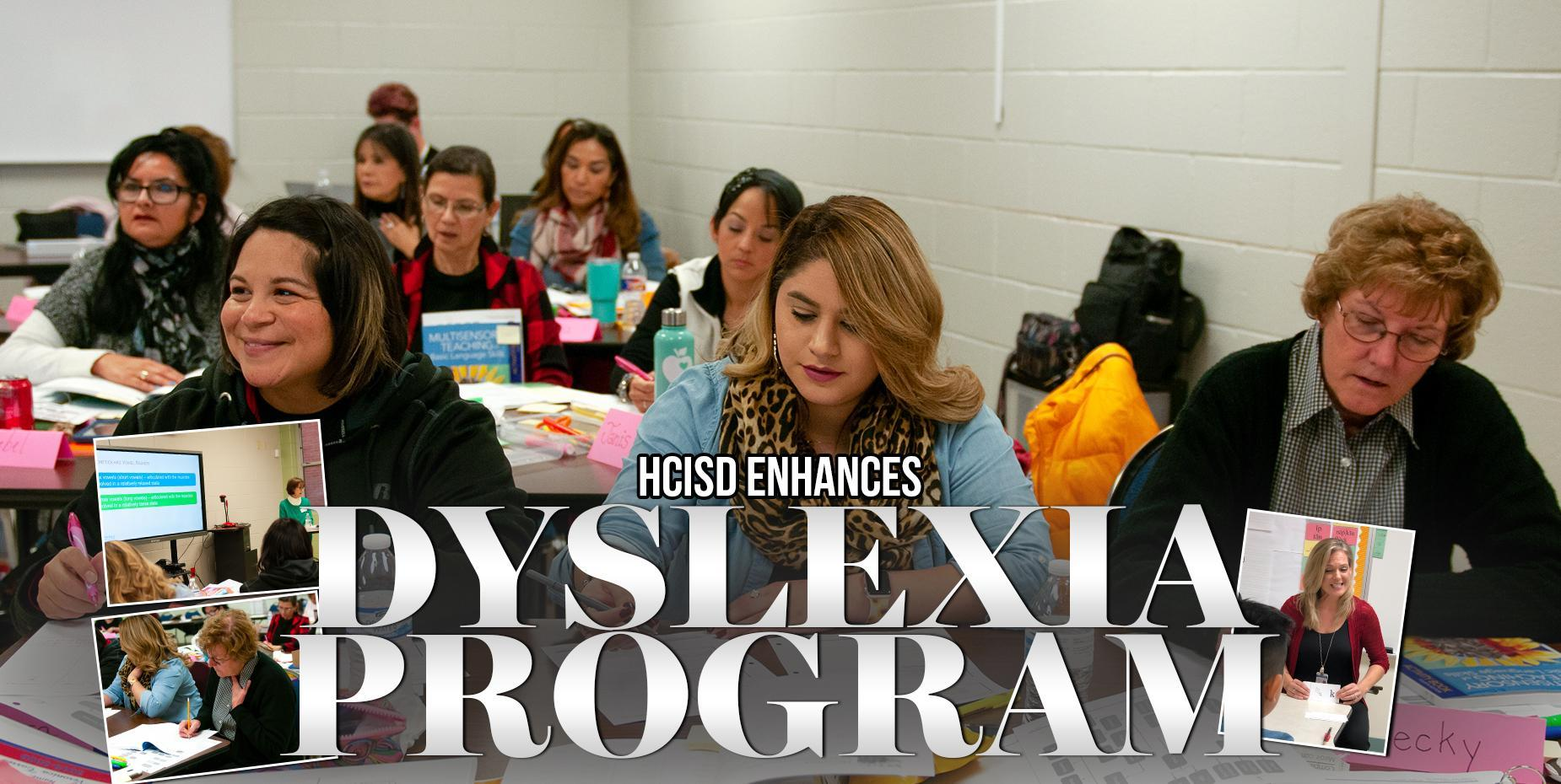 HCISD Enhances Dyslexia Program