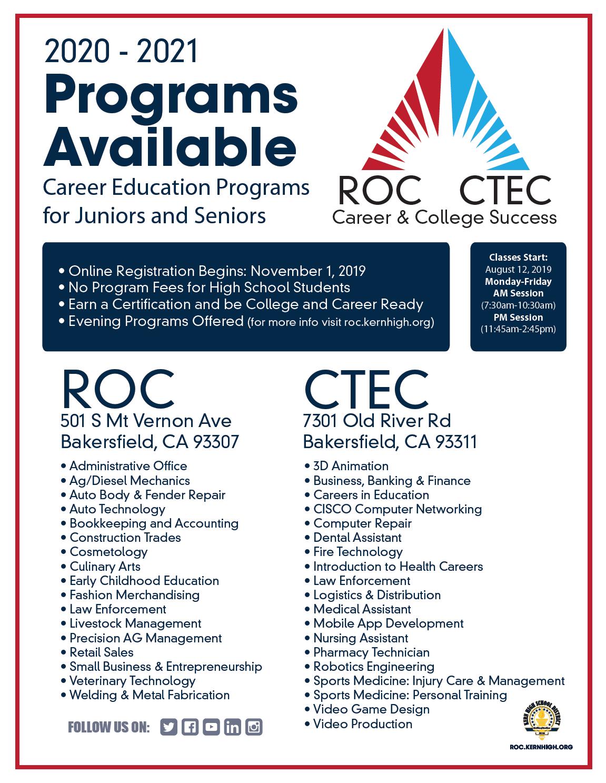 ROC Programs
