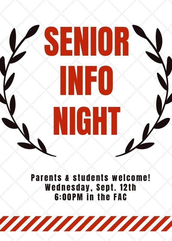 Senior Information Night & College Night Featured Photo