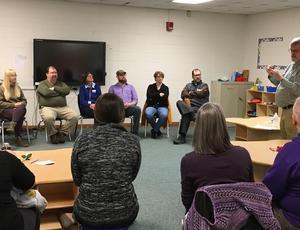 Parents at Deaf Panel