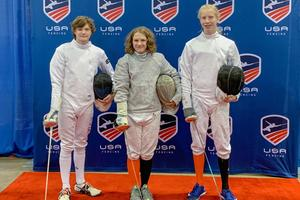 MECHS Jr. Olympics Fencing Participants