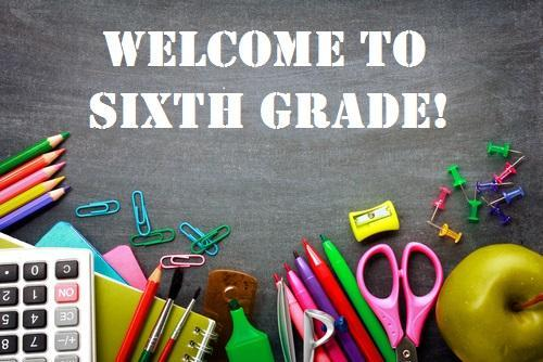 Incoming 6th Graders - Info page Featured Photo