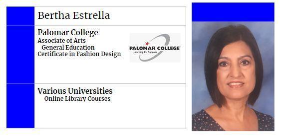 Bertha's College Info