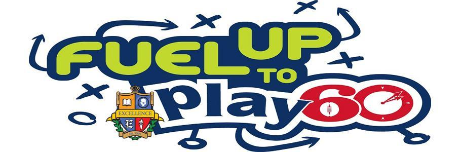 Fuel up to Play 60 banner