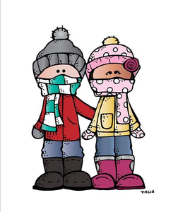 students ready for cold weather