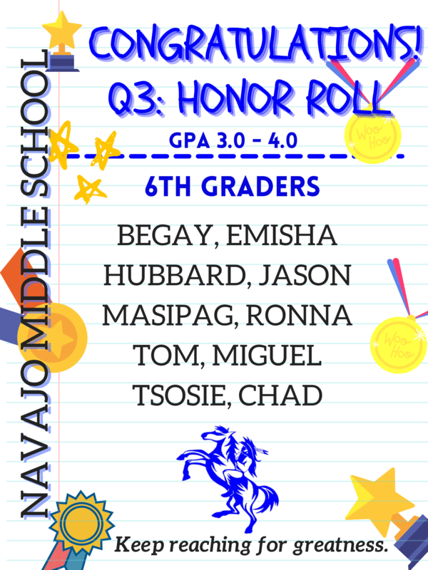 Q3 Honor Roll Recipients Featured Photo