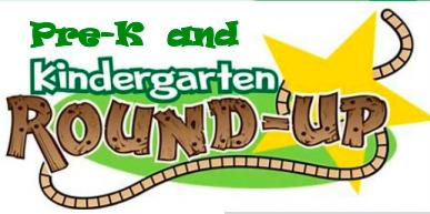 PreK and Kindergarten Round Up! Thumbnail Image