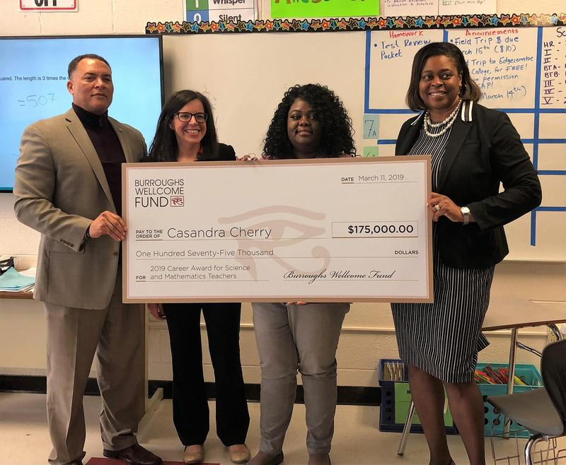 Phillips Middle School's Cherry awarded grant Thumbnail Image