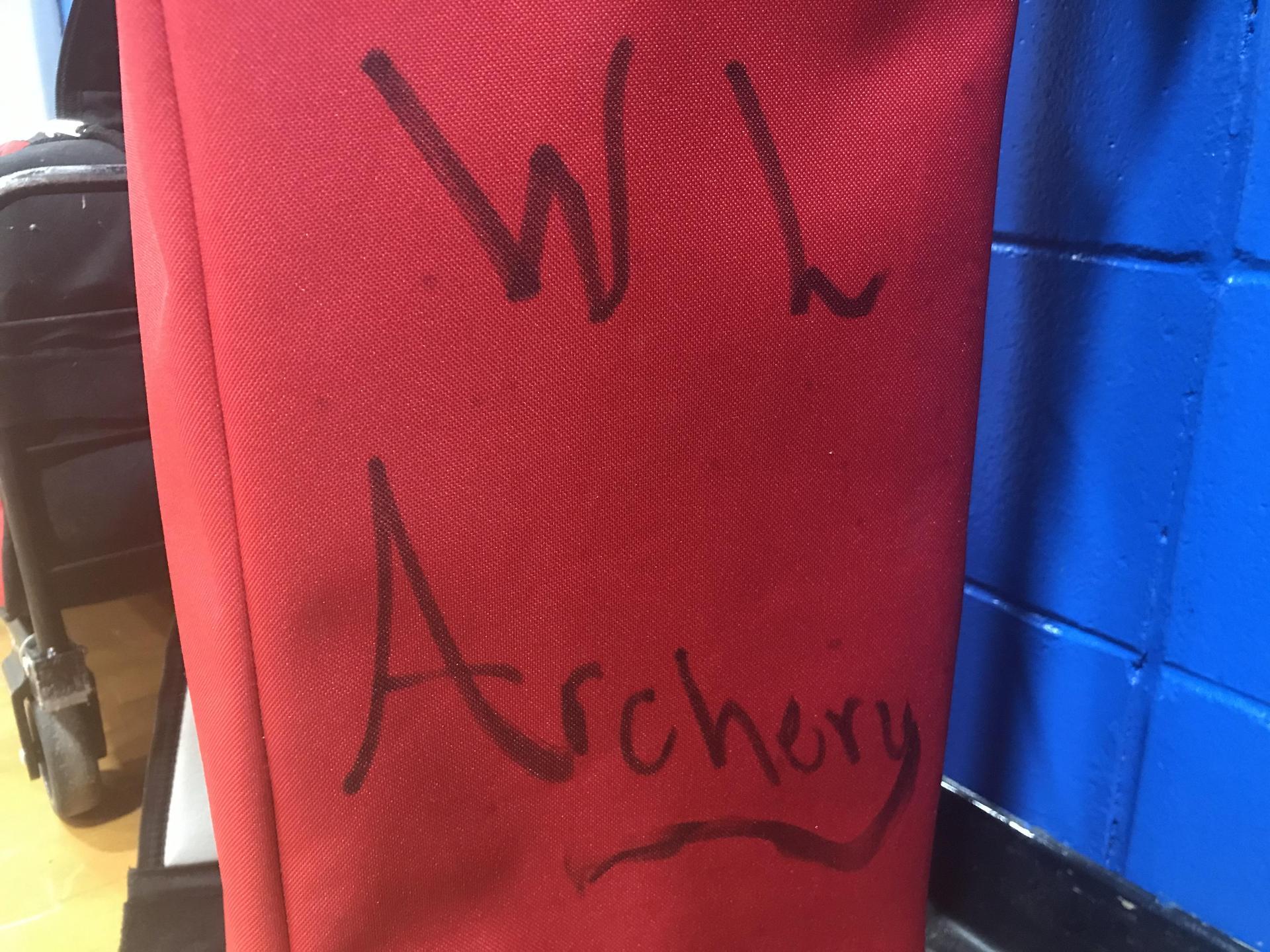 WLHS Archery Bag