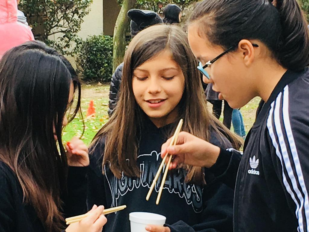 Chopstick chaalenge