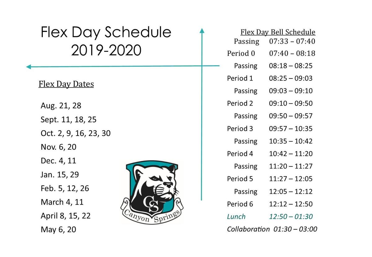 Flex Day Schedule