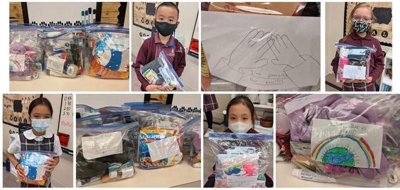 3rd Grade Jaguars Create 'Blessing Bags'! Featured Photo