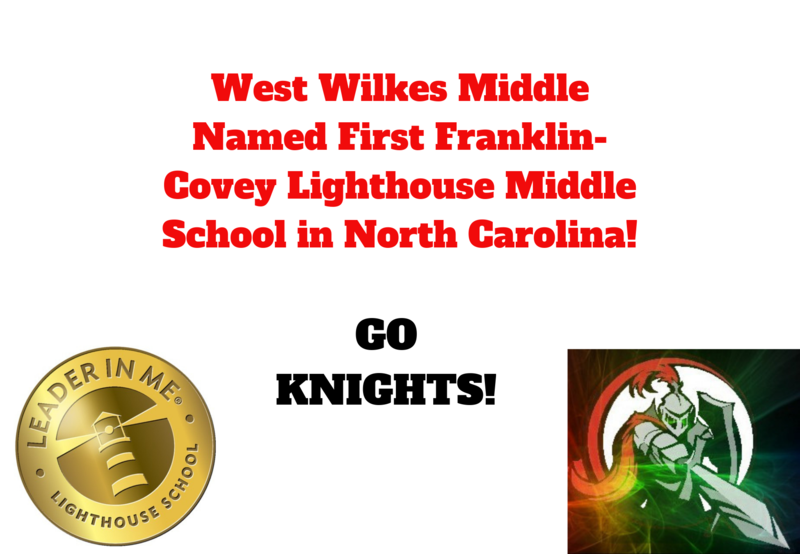 WWMS is the first Franklin-Covey Lighthouse middle school in North Carolina! Thumbnail Image